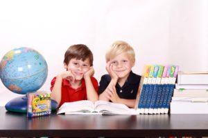 インターナショナルプリスクールに通う子供